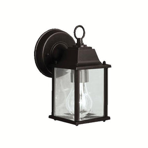 Barrie 8 Inch Tall 1 Light Outdoor Wall Light by Kichler Lighting