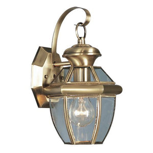 Monterey 13 Inch Tall 1 Light Outdoor Wall Light by Livex Lighting