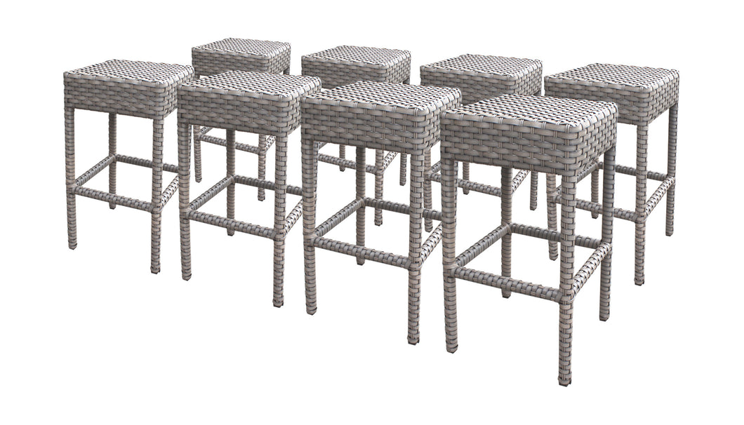 8 Monterey Backless Barstools