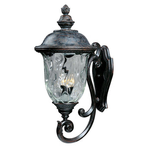 Carriage House Dc 31 Inch Tall 3 Light Outdoor Wall Light by Maxim Lighting