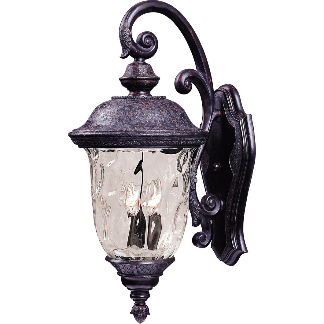 Carriage House Vx 20 Inch Tall 2 Light Outdoor Wall Light by Maxim Lighting