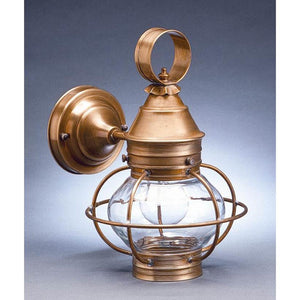 Onion 12 Inch Tall 1 Light Outdoor Wall Light by Northeast Lantern