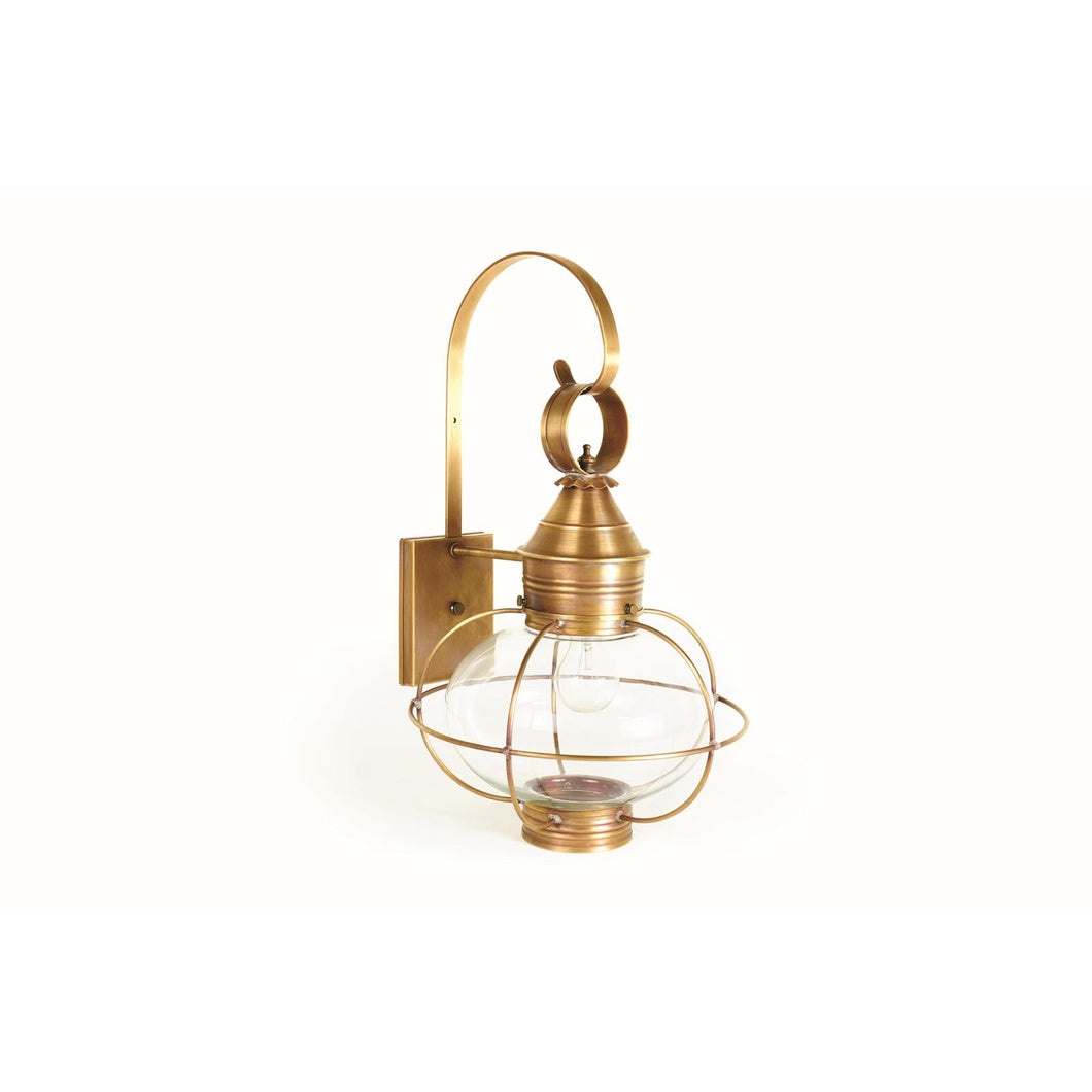Onion 21 Inch Tall 1 Light Outdoor Wall Light by Northeast Lantern