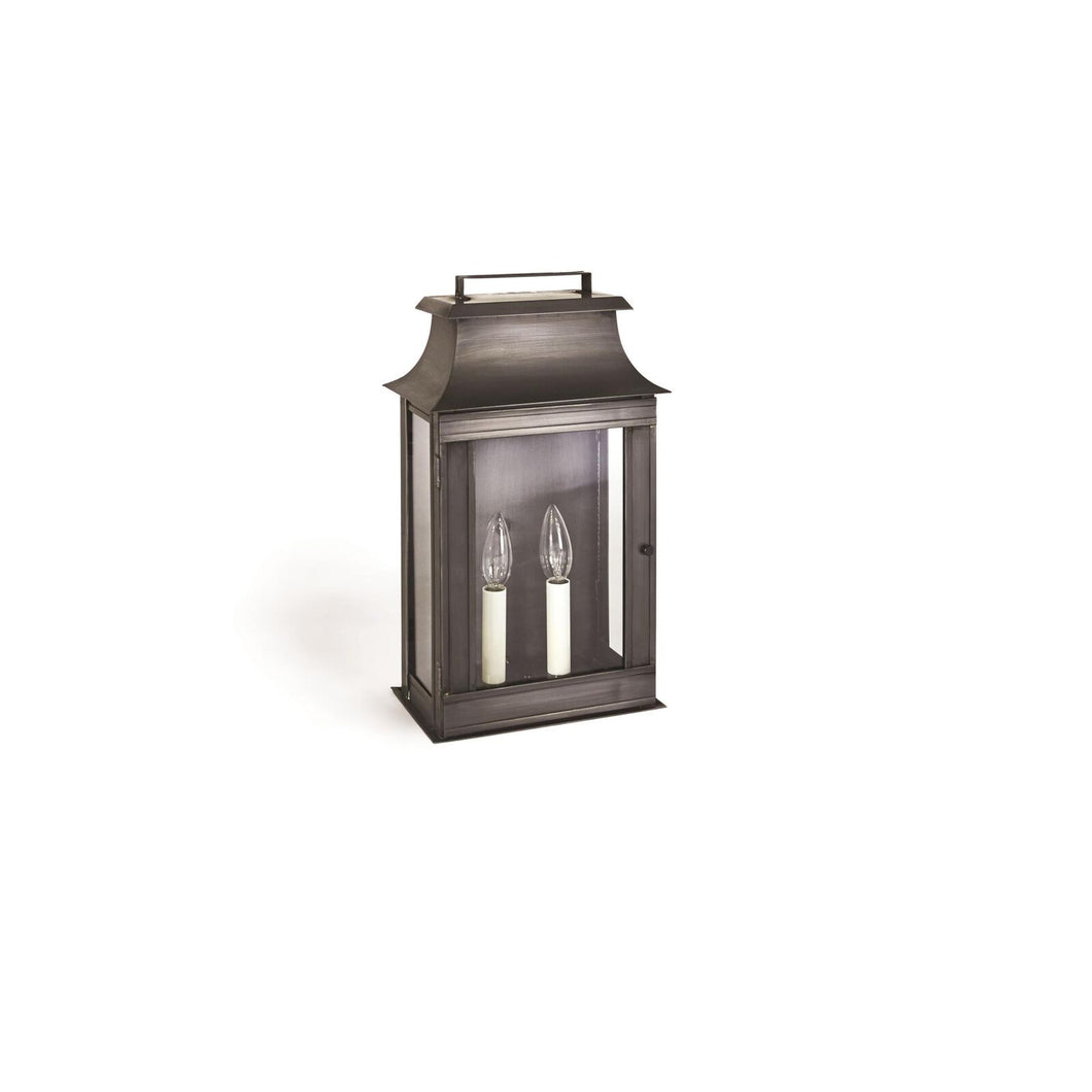 Concord 16 Inch Tall 2 Light Outdoor Wall Light by Northeast Lantern