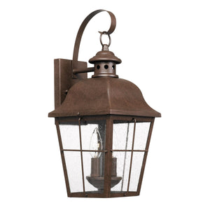 Millhouse 18 Inch Tall 2 Light Outdoor Wall Light by Quoizel