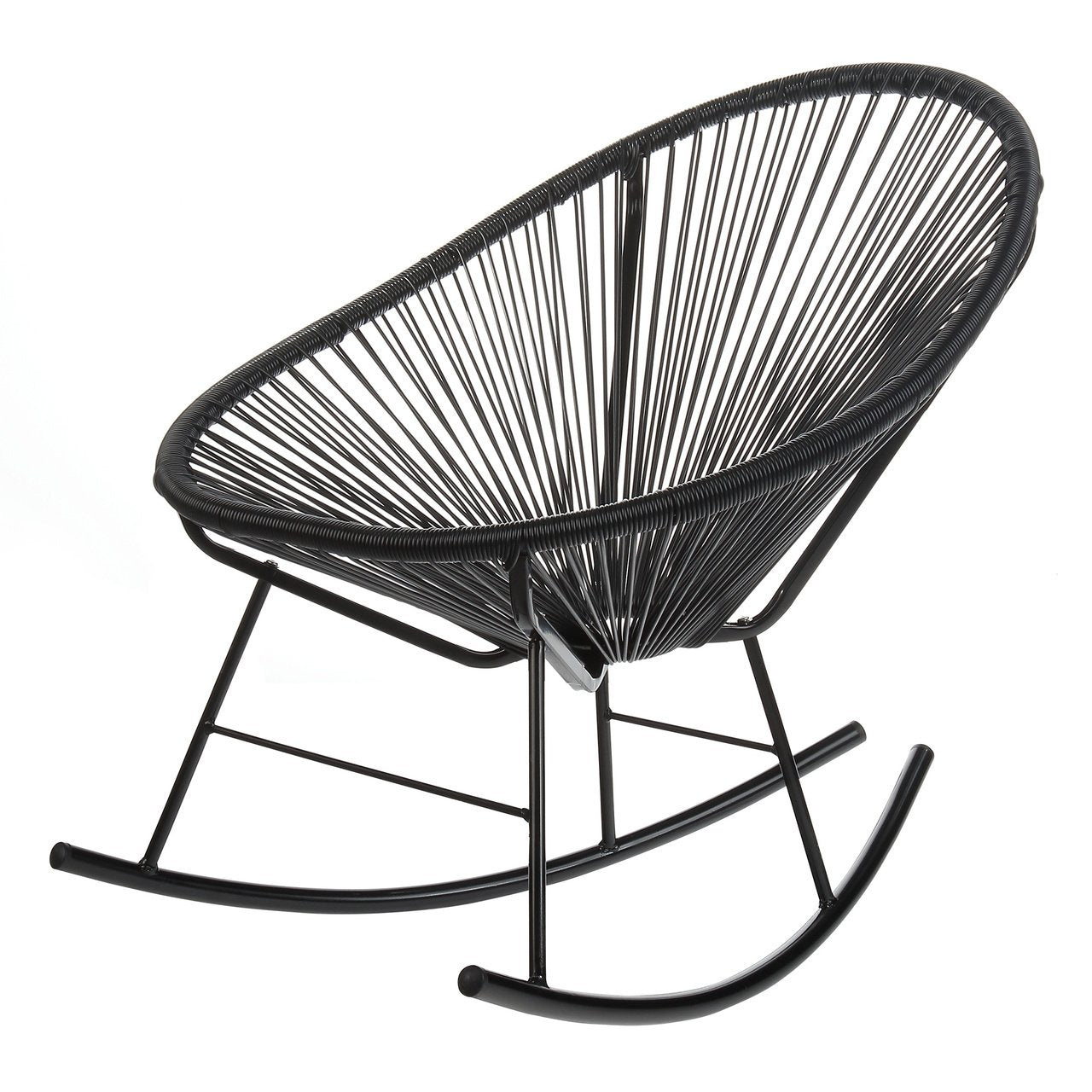 Acapulco Rocking Chair - Black