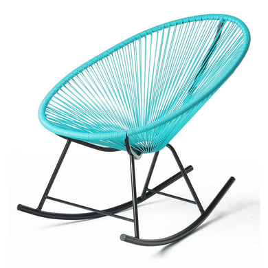 Acapulco Rocking Chair - Blue - Backyard Home Oasis