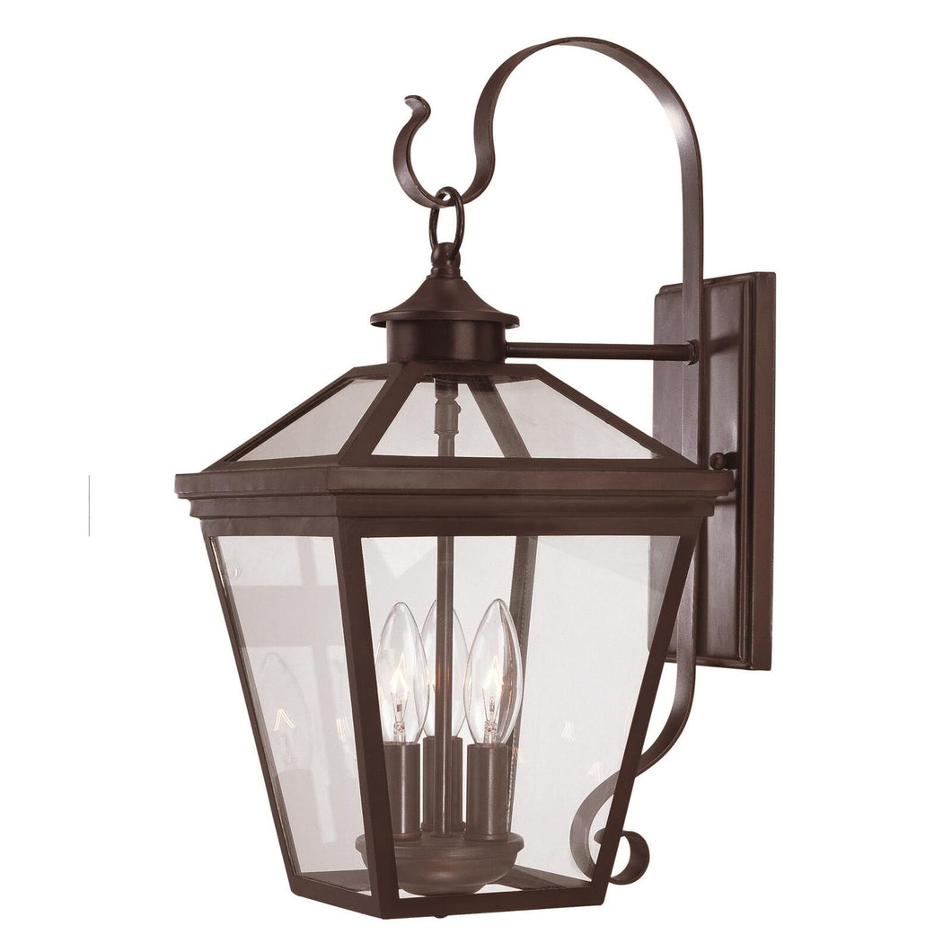 Ellijay 19 Inch Tall 3 Light Outdoor Wall Light by Savoy House