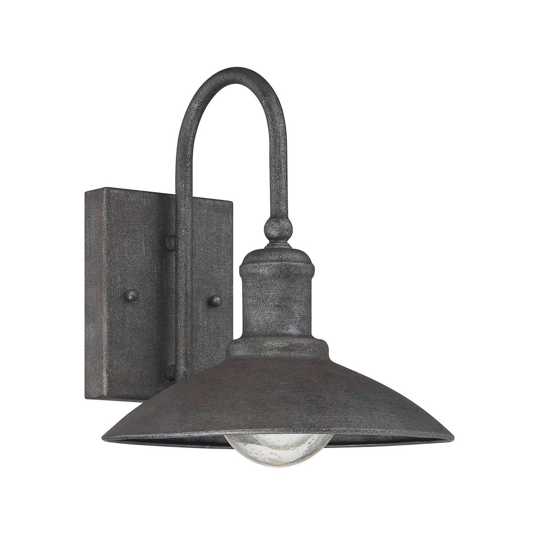 Mica 10 Inch Tall 1 Light Outdoor Wall Light by Savoy House