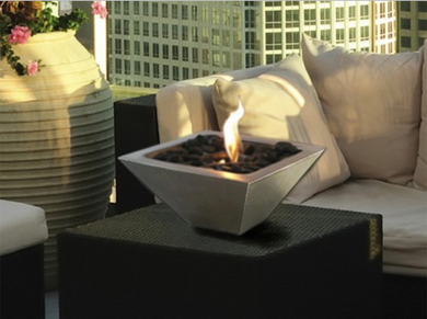 Empire Tabletop Fireplace - Backyard Home Oasis