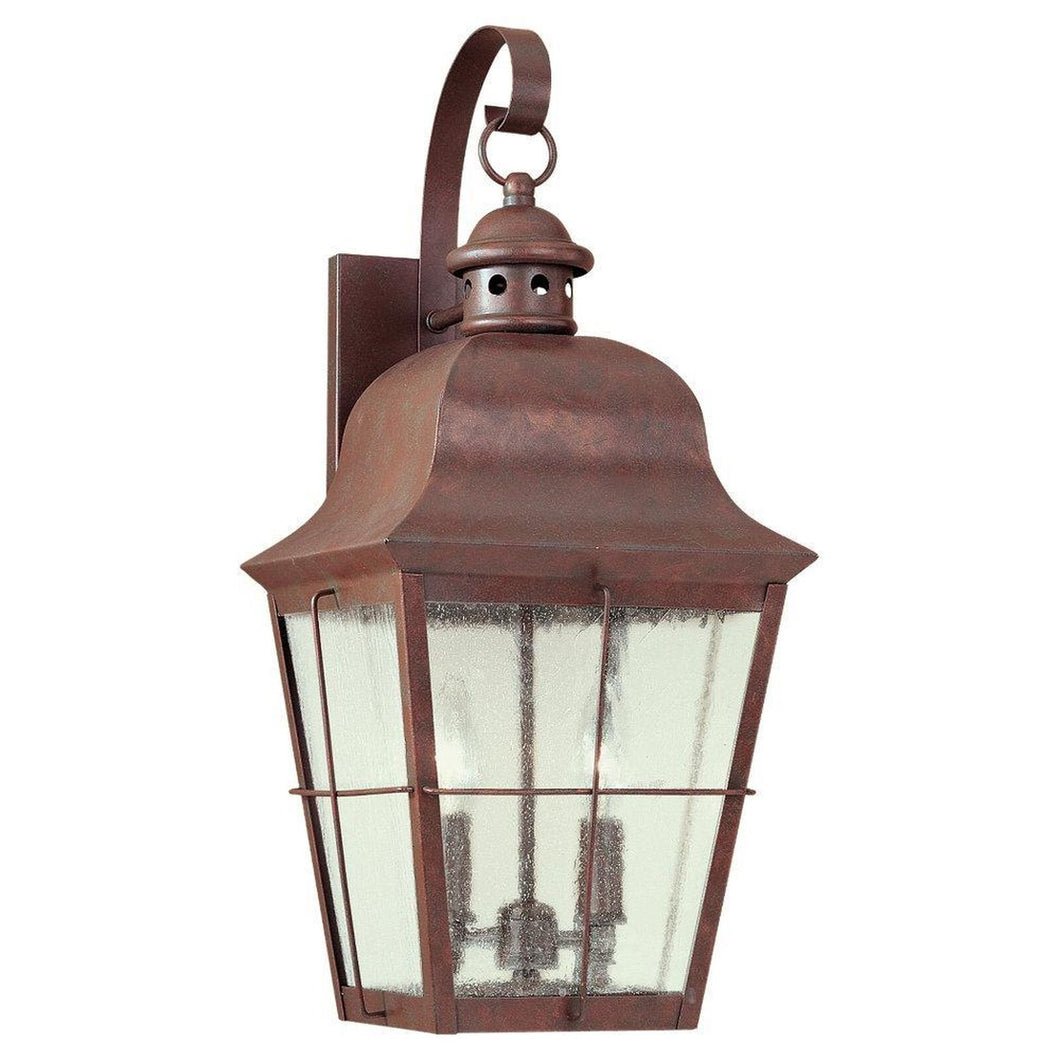 Chatham 21 Inch Tall 2 Light Outdoor Wall Light by Sea Gull Lighting