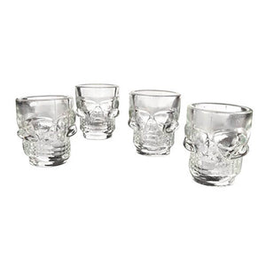 Skull Shot Glasses - Set of 4