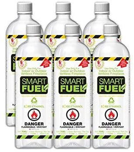 Anywhere Fireplace - Smart Fuel 6 Pack