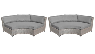 Florence Curved Armless Sofa 2 Per Box