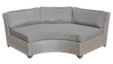 Florence Curved Armless Sofa