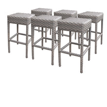Load image into Gallery viewer, 6 Oasis Backless Barstools