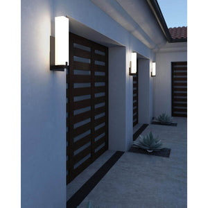 Cosmo 19 Inch Tall Bronze Outdoor Wall Light by Tech Lighting
