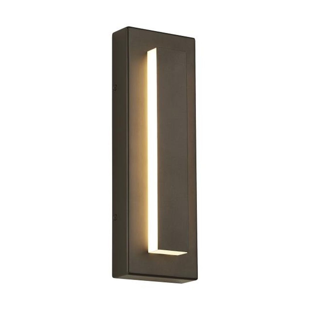 Wish List Aspen 15 Inch Tall 1 Light LED Outdoor Wall Light by Tech Lighting