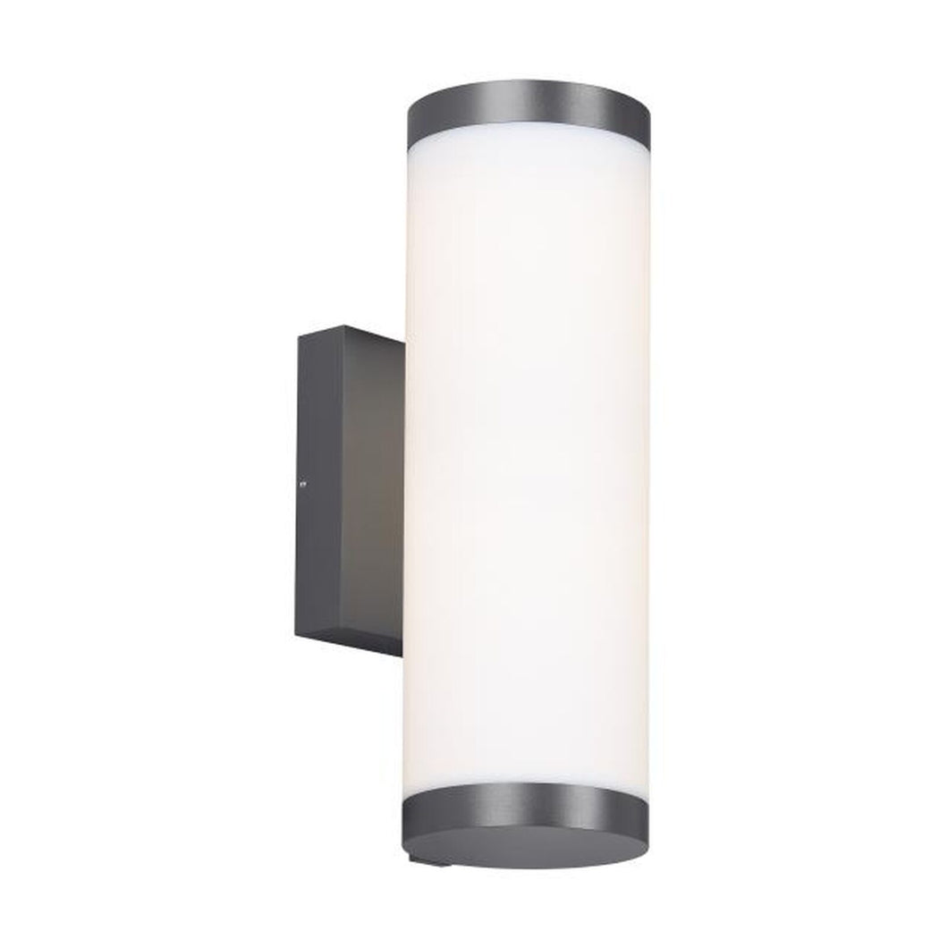 Gage 15 Inch Tall Outdoor Wall Light by Tech Lighting