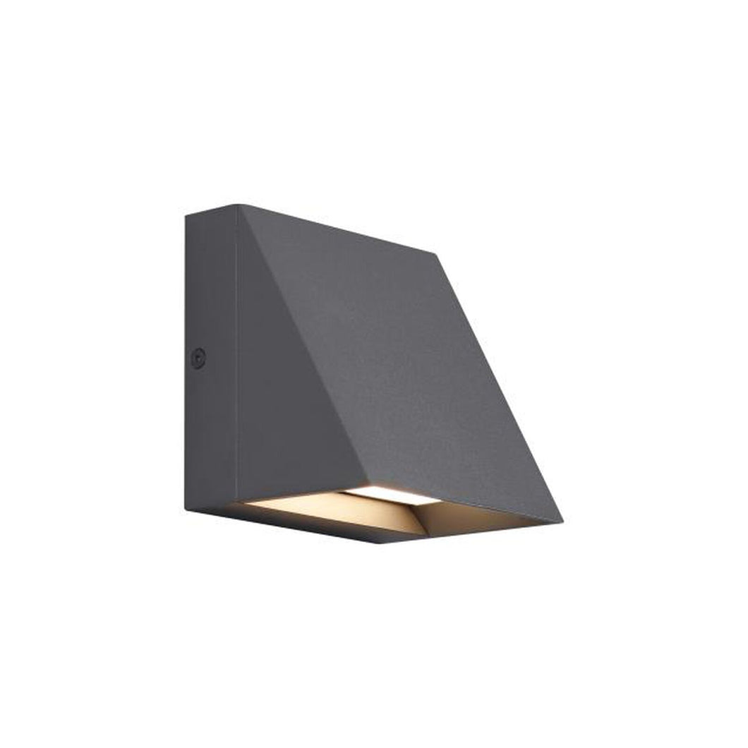 Pitch 5 Inch Tall LED Outdoor Wall Light by Tech Lighting