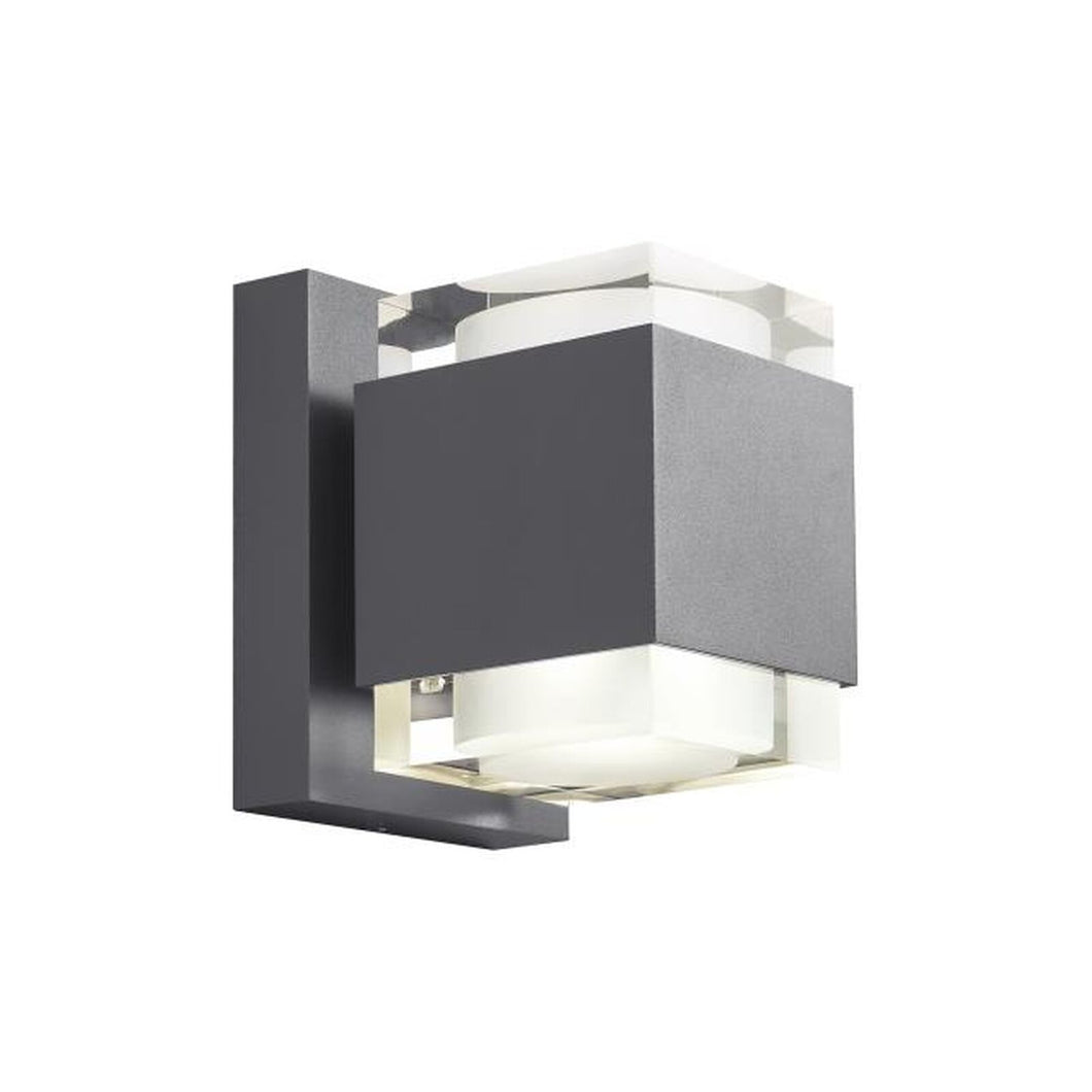 Voto 8 Inch Tall Outdoor Wall Light by Tech Lighting