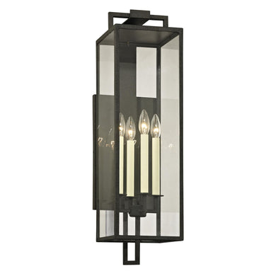 Beckham 28 Inch Tall 4 Light Outdoor Wall Light by Troy Lighting