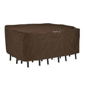 Classic-Accessories-Madrona-Waterproof-108-Inch-Rectangular-Oval-Patio-Bar-Table-Chair-Cover