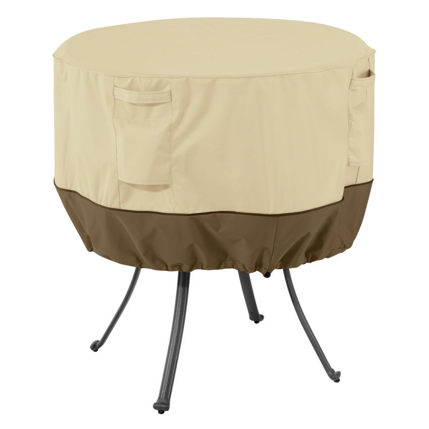 Classic Accessories Veranda Water Resistant 36 Inch Round Patio Table Cover