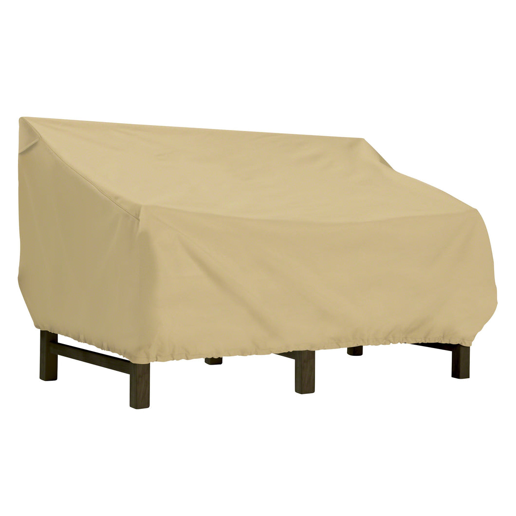 Classic Accessories Terrazzo Water Resistant 58 Inch Deep Seated Patio Love Seat Cover