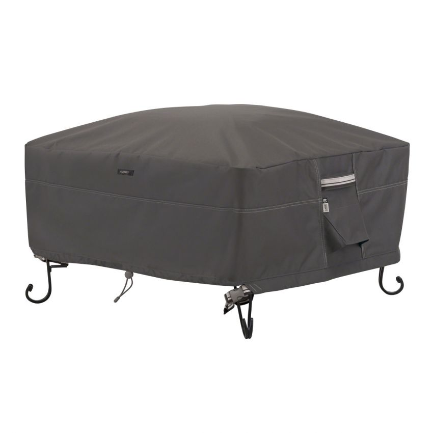 Classic-Accessories-Ravenna-Water-Resistant-30-Inch-Square-Fire-Pit-Cover