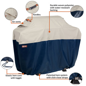 Classic Accessories Mainland Water Resistant 58 Inch BBQ Grill Cover