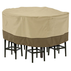 Classic-Accessories-Veranda-Water-Resistant-70-Inch-tall-Round-Patio-Table-Chair-Set-Cover