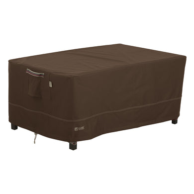 Classic Accessories Madrona Waterproof 48 Inch Rectangular Coffee Table Ottoman Cover