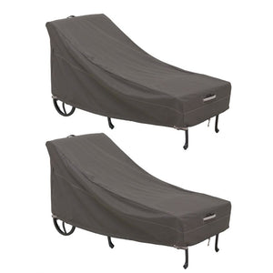 Classic-Accessories-Ravenna-Water-Resistant-86-Inch-Patio-Chaise-Lounge-Chair-Cover-2-Pack