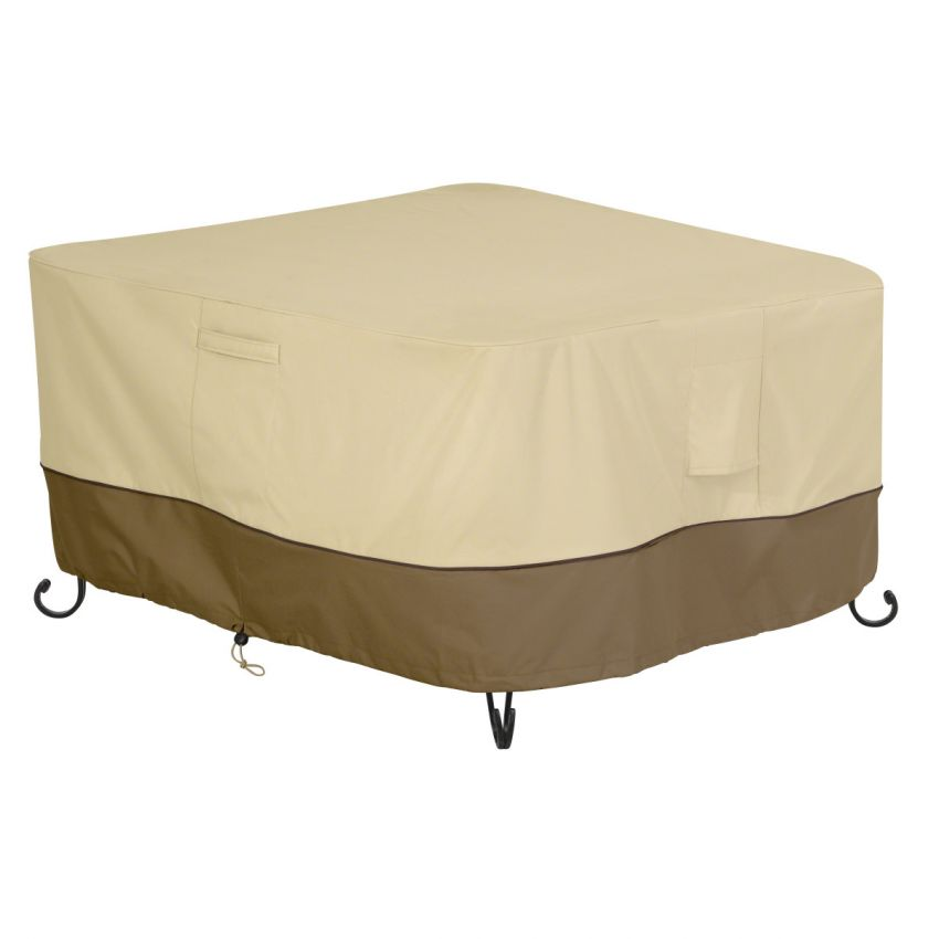 Classic-Accessories-Veranda-Water-Resistant-42-Inch-Square-Fire-Pit-Table-Cover