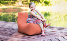 Load image into Gallery viewer, Kids Juniper Outdoor Bean Bag Chair Flamingo - Backyard Home Oasis
