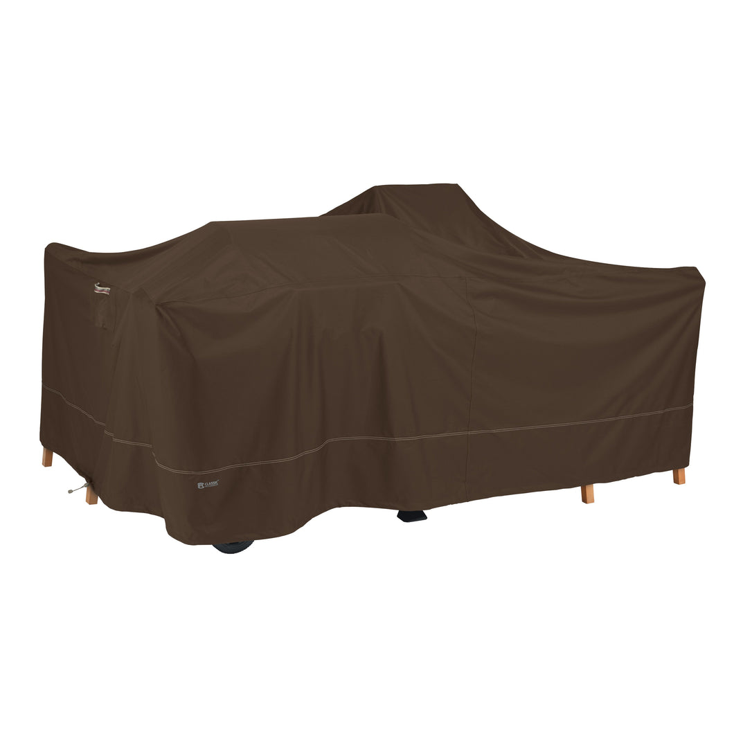 Classic Accessories Madrona Waterproof 150 Inch General Purpose Patio Cover Dark Cocoa