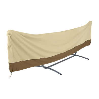 Classic Accessories Veranda Water Resistant 15 foot Standard Brazilian Hammock and Stand Cover