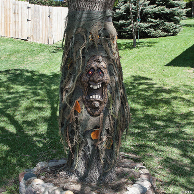 Haunted Tree with Light-up Eyes Halloween Decoration