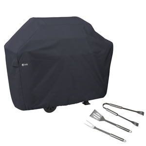 Classic-Accessories-Water-Resistant-64-Inch-BBQ-Grill-Cover-with-Grill-Tool-Set