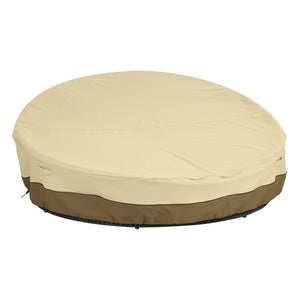 Classic Accessories Veranda Water Resistant 65 Inch Round Patio Daybed Cover