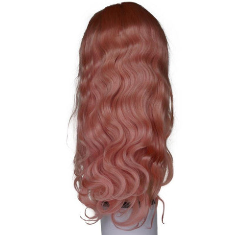 Fresh Pink Front Lace Wig