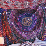Soft Purple Mandala Tapestry