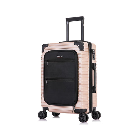 TOUR Lightweight Hardside Spinner 20'' inches carry-on with Front Pocket and USB Port