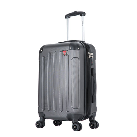INTELY Hardside Spinner 20'' inches carry-on with USB port