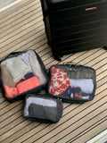 Travel Packing Cubes Organizers - 3 Piece Set
