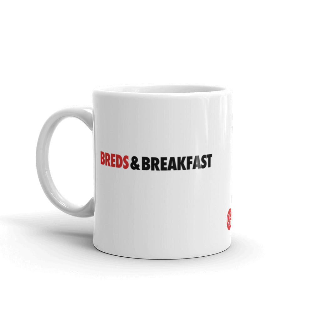 Black and Red ceramic coffee and tea mug for sneakerheads