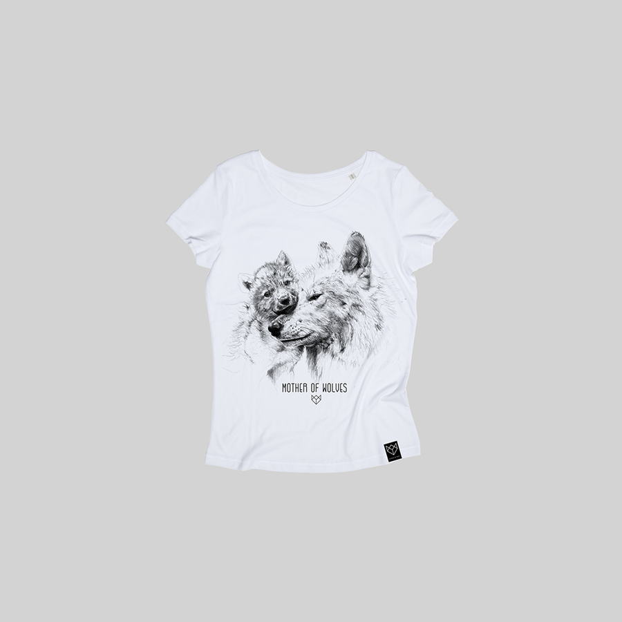Tee-shirt Femme -  EDITION MOTHER'S DAY MOTHER OF WOLVES