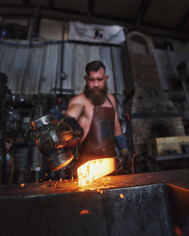 hand forging knife