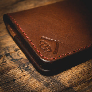 Expedition Wallet- Vintage Brown Leather Goods Savage Gentleman